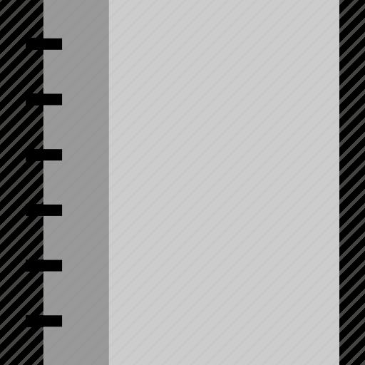notebook, school, tools, write icon