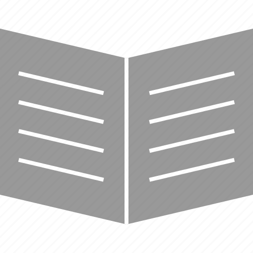 book, early, learning, open icon