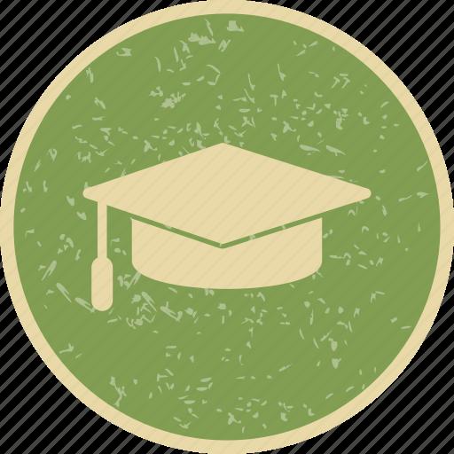 degree, graduate, graduation, graduation cap icon