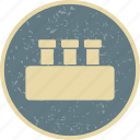 flask, laboratory, test tube icon