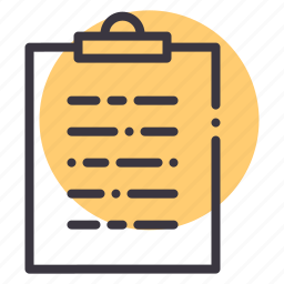 check, checklist, clipboard, inventory, list, todo, verify icon
