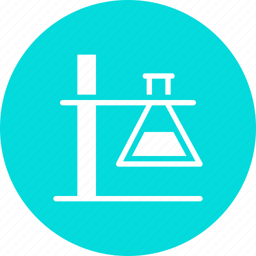 beaker, chemistry, erlenmeyer, experiment, flask, laboratory, research icon