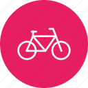 bicycle, campus, cycle, student, transport, travel, vehicle icon