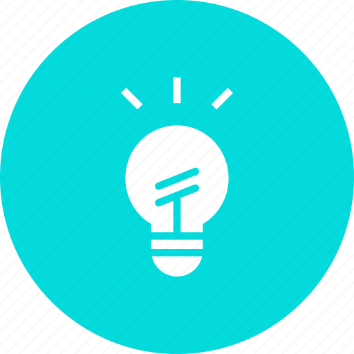 bright, bulb, discovery, idea, innovation, invention, light icon