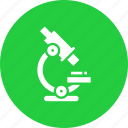 biology, experiment, lab, laboratory, microscope, science, test icon