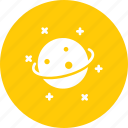 astronomy, orbit, planet, rotation, science, space, stars icon