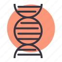 dna, forensic, gene, helix, lab, structure, test icon
