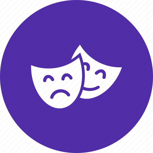 anonymous, drama, entertainment, face, mask, stage, theater icon
