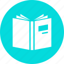 book, education, knowledge, learning, library, read, study icon