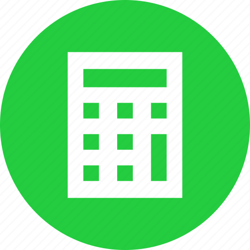 Calculate, calculator, compute, device, math, office, statinoery icon - Download on Iconfinder