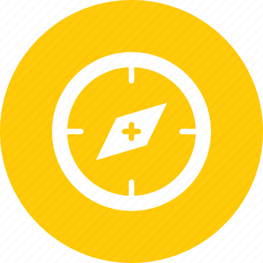 compass, device, direction, nautical, navigation, pin icon