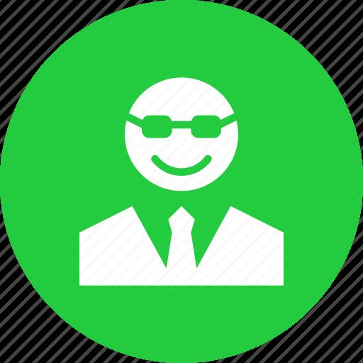 avatar, boss, character, manager, principal, professor, teacher icon