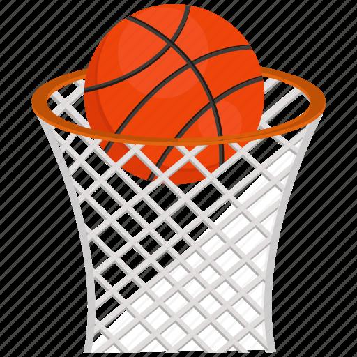 basket ball, sports icon