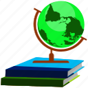 book, earth, education, globe, learning, web, world icon
