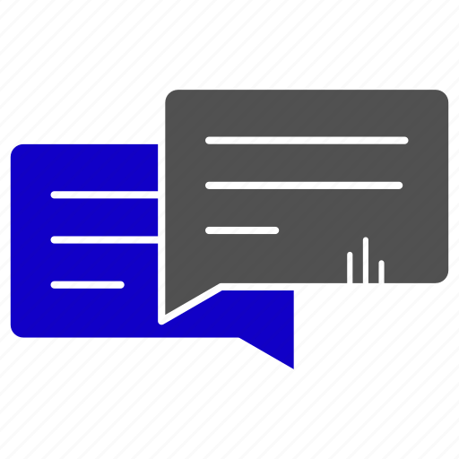 conversation, education, message, sms, study, text icon