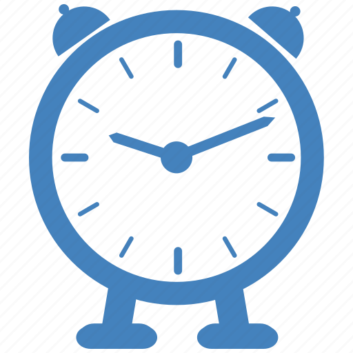alarm, clock, productivity icon