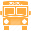 public, school, transport, transportation icon