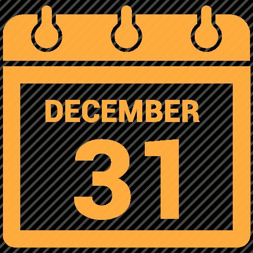 calendar, december, month, schedule icon