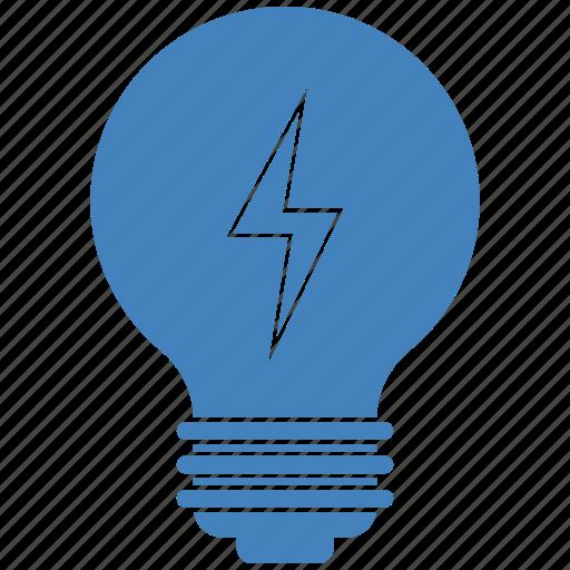 bulb, charge, idea, lamp icon