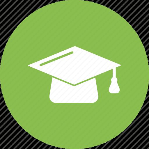 graduation, hat, school, student icon