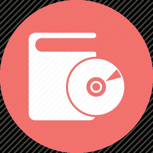 book, bookmark, cd, education icon