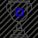 education, prise, study, success, trophy, winner icon