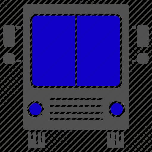 bus, education, school, study, transport, vehicle icon