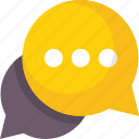 bubbles, bubbles chat, chat, chat bubbles icon icon