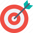 achievement, aim, bullseye, goal, success, target icon icon