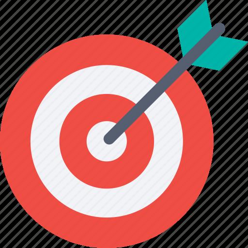 achievement, aim, bullseye, goal, success, target icon icon