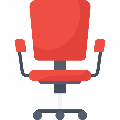 business, furniture, office chair icon icon
