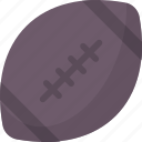 american football, ball, football, game, rugby, sport, yumminky icon icon