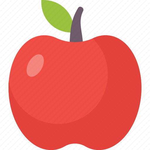apple, collage, education, physics, school, sience icon icon