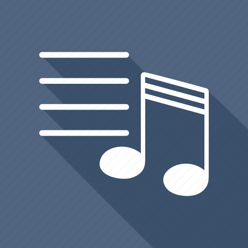 audio, music, note, player, radio, song, sound icon