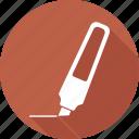 pen, pencil, writing icon