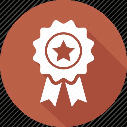award, award badge, award ribbon, badge, star badge icon