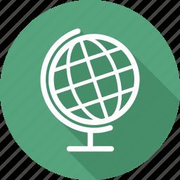 atlas, earth, geography, globe icon