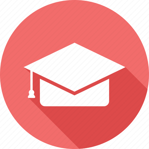 degree, graduation, graduation hat, university icon