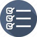 business, check, list, paper icon