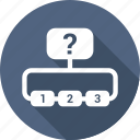 business, conection, contacts icon