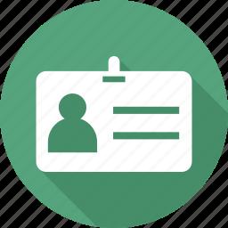 card, id, id card, identity, identity card, volunteer card icon