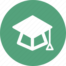 education, graduation, graduation hat, hat icon