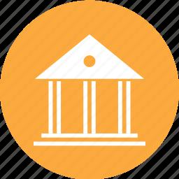 bank, building, deposit, money icon