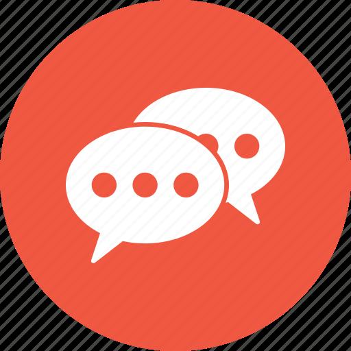 chat, connect, conversation, speak icon