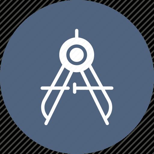 compass, geometry, tool, tools icon
