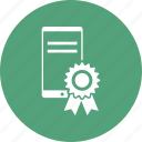 award, award badge, award ribbon, device icon
