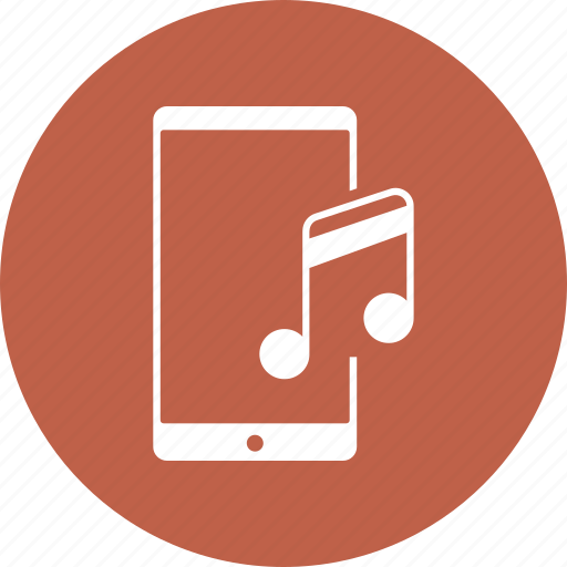 mobile music, mobile sound, music, music note, sound icon