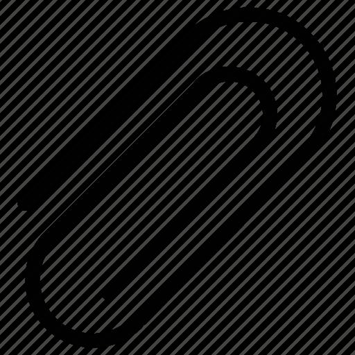 attach file, attachment sign, clip for attachment, paper clip icon