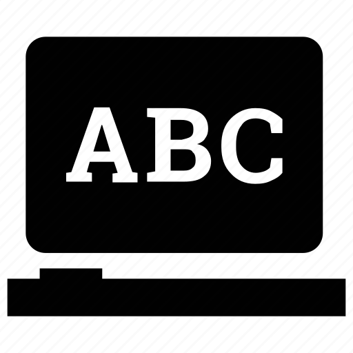abc, early education, english learning, learning alphabets icon