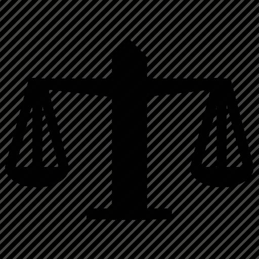 balance scale, justice scale, law symbol, scale icon